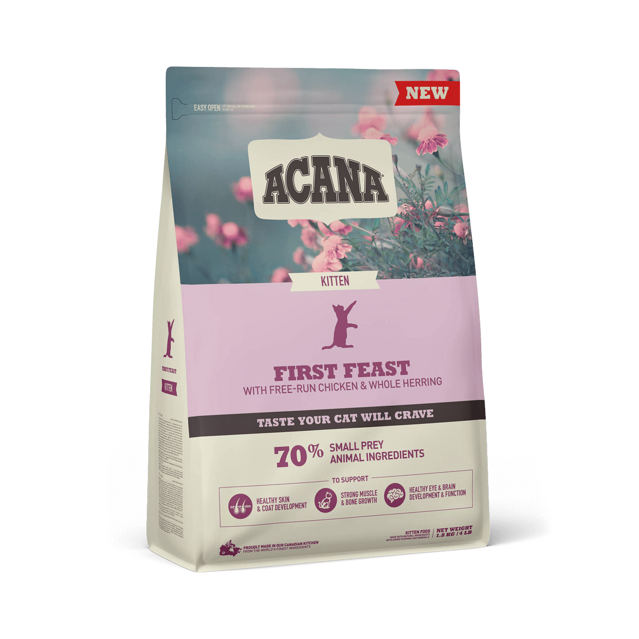 01 NS ACANA Cat First Feast Front Right 1.8kg-min